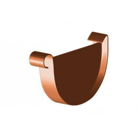 Водосток Magnat, Заглушка желоба (универсальная) 125 мм
