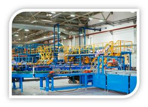 Производственные станки на заводе Ruflex