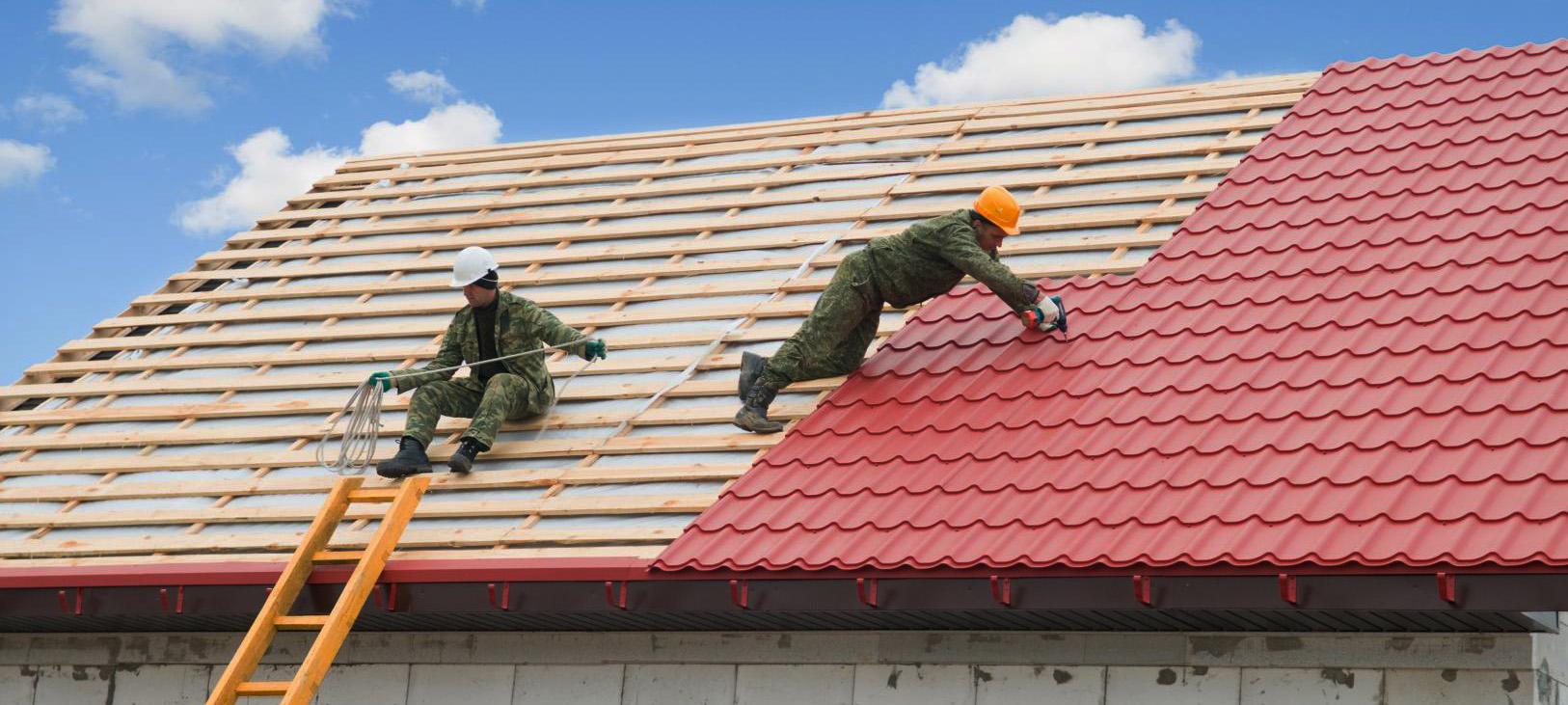 Покрыть крышу профнастилом сарая своими руками